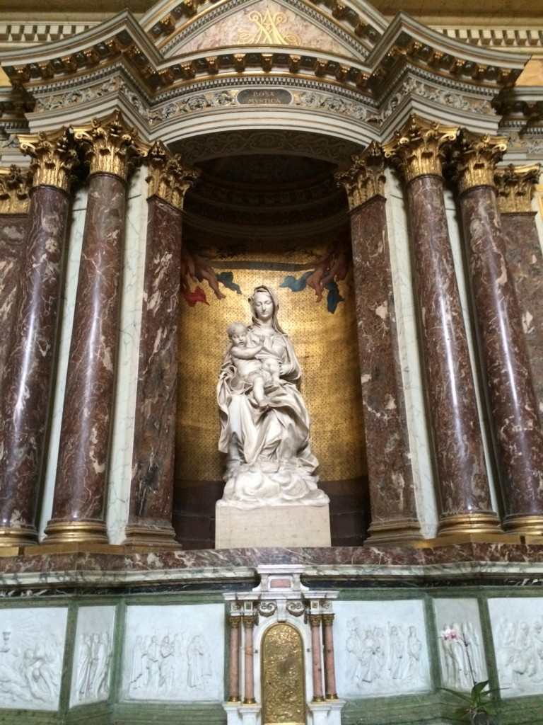 Bernini Raggi Madonna Paris Entire Altar
