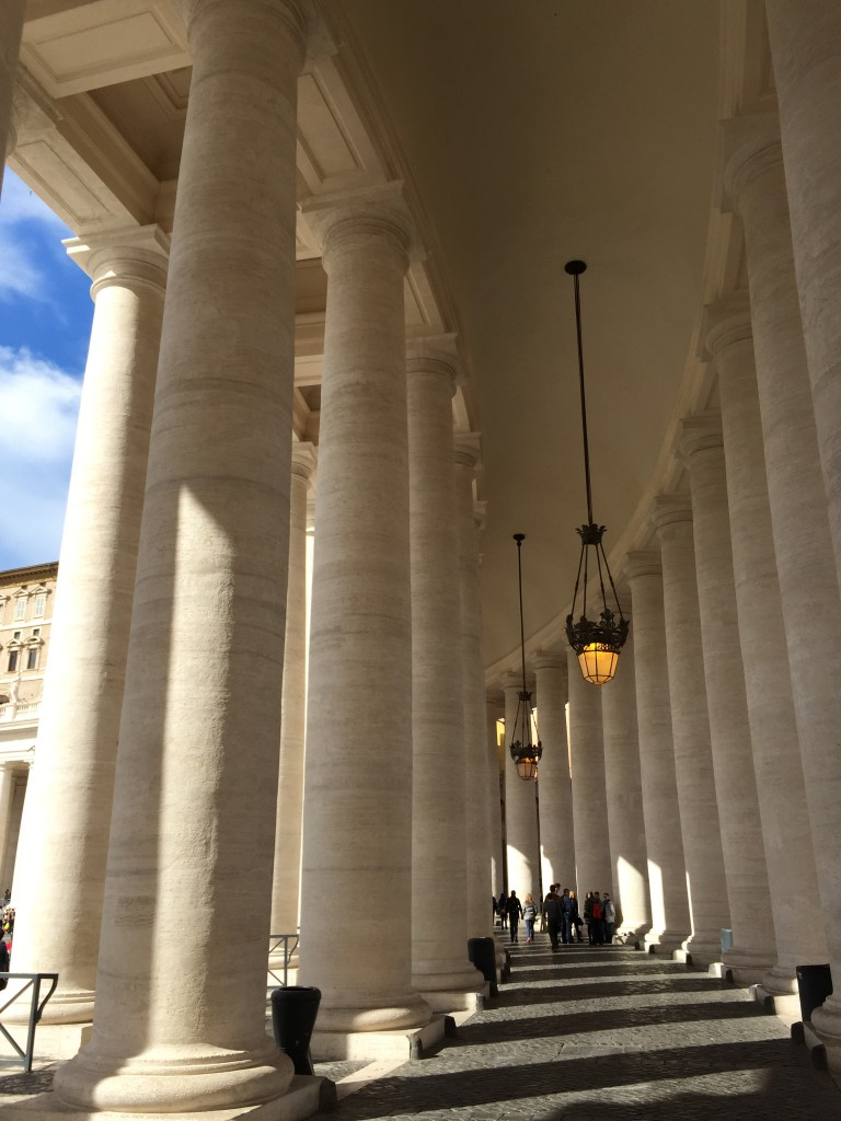 Colonnade Cleaned March 2015