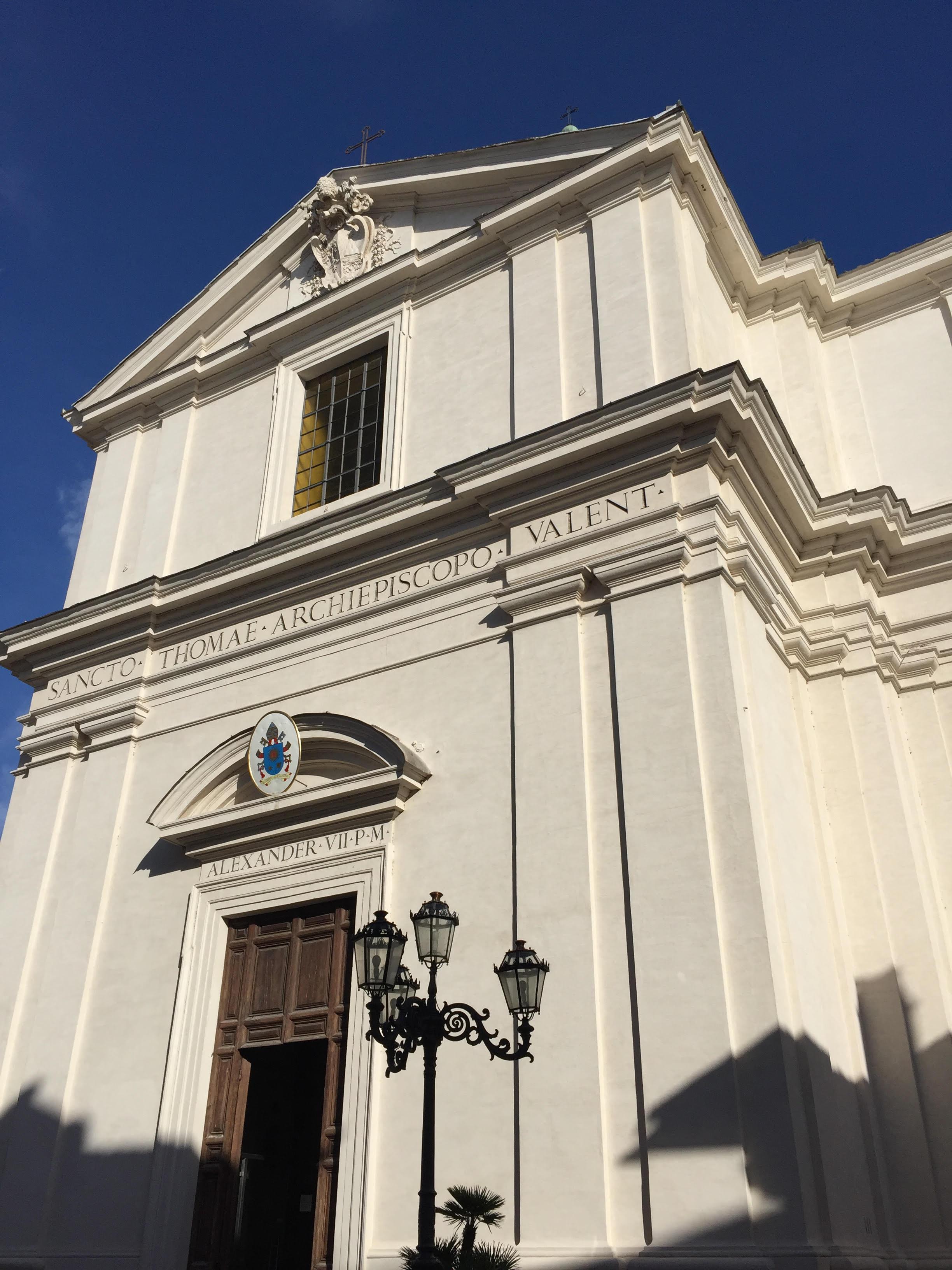 Bernini: Church of St. Tommaso da Villanova, Castel Gandolfo (foto: F. Mormando)