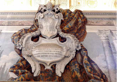 Bernini & GP Schor, Wall decoration, Galleria di Urbano VIII, Vatican Library