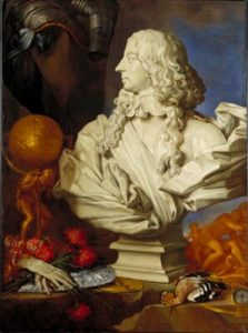 Minneapolis Allegorical Still Life with Bernini Bust of Francesco dEste