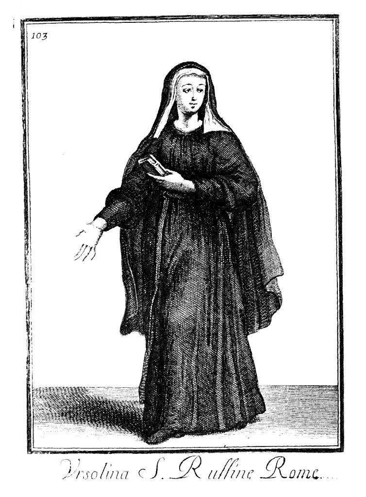 Habit of the Ursulines of Santa Rufina