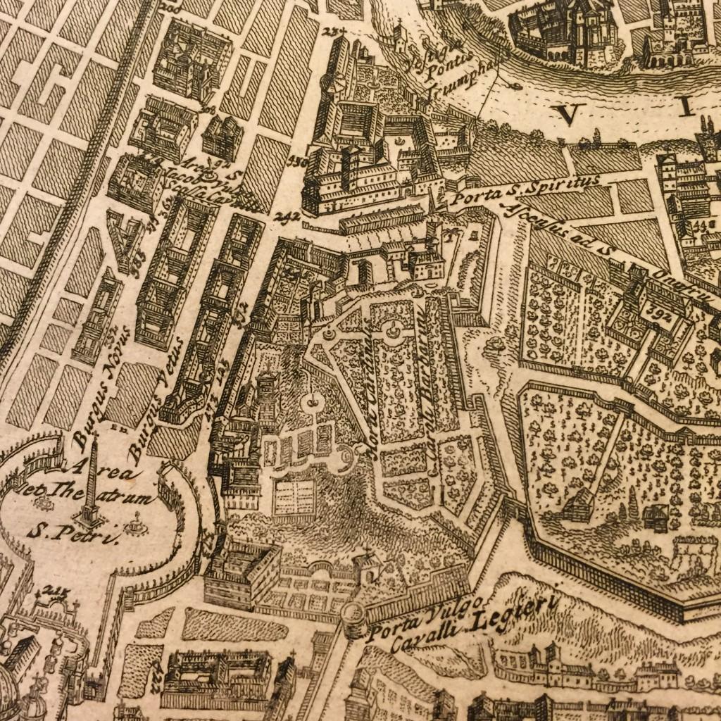 Villa Barberini ai Bastioni Rome Francois Deseine 1704 vol 2