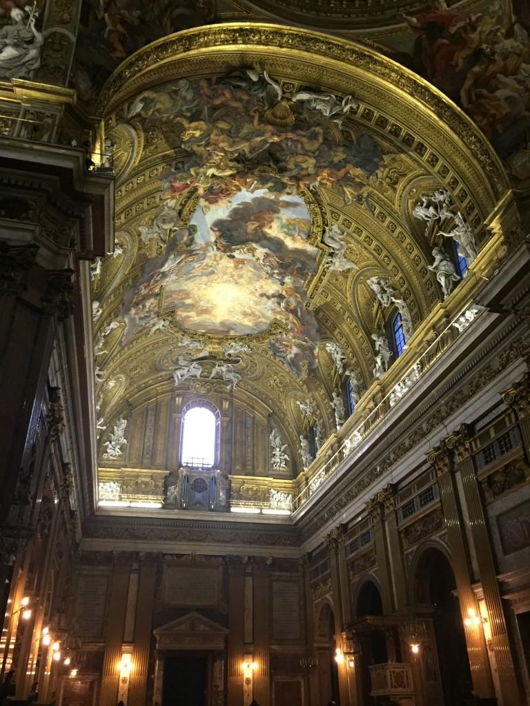 gaulli gesu ceiling illuminated